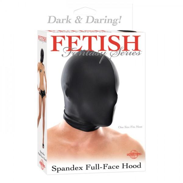 FF SPANDEX FULL FACE HOOD BLACK