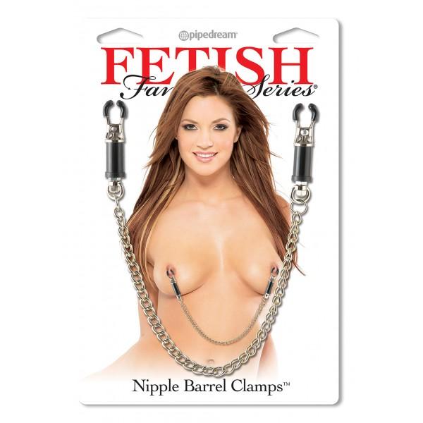 FF NIPPLE BARREL CLAMPS