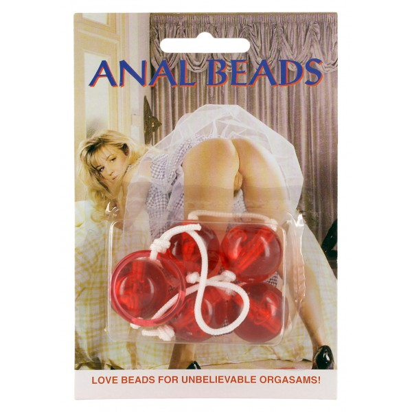 CLEAR ANAL BEADS LARGE