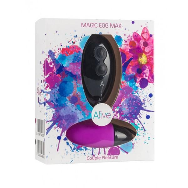 Vibrator - Magic Egg Max Remote control. Func:10.