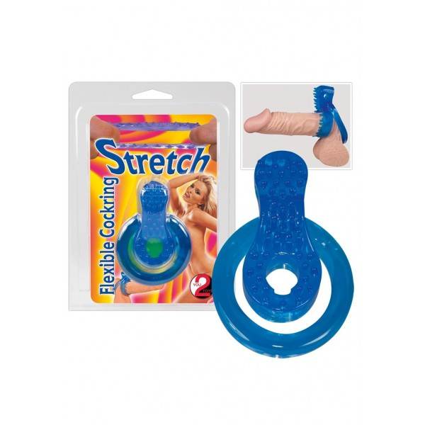 Stretch-Ring blau