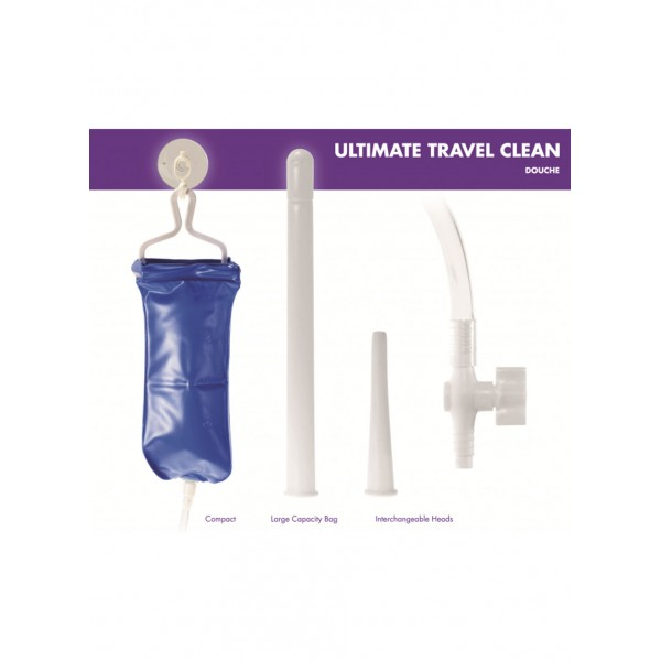 Ultimate Travel Clean Douche Kinx