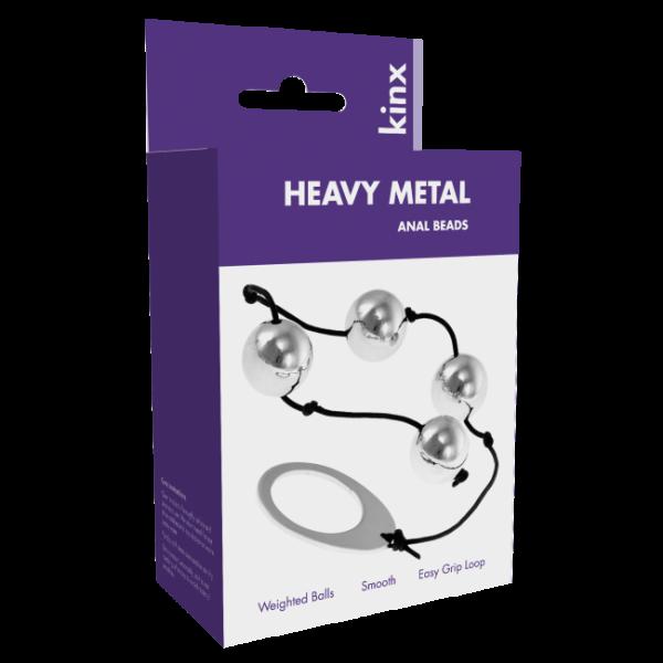 Heavy Metal Anal Beads Kinx