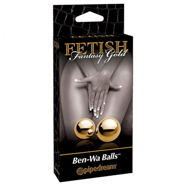 FETISH FANTASY GOLD BEN-WA BALLS