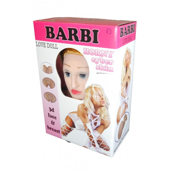 Bábika BARBI- 3D