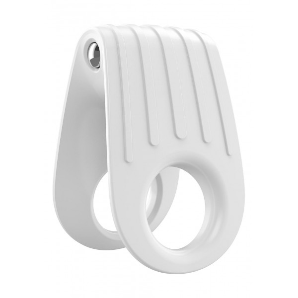 Ovo b12 vibrating ring white