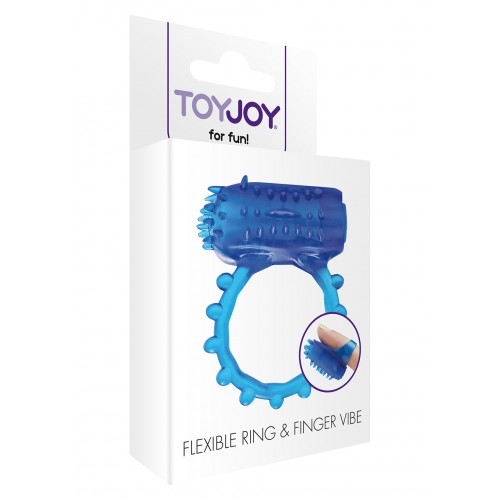 FLEX RING AND FINGER VIBE BLUE