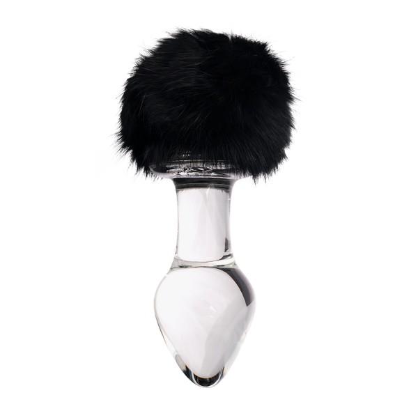 Sexus Glass 912226 Anal plug glass with tail